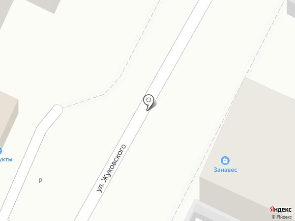 Занавес на карте Геленджика