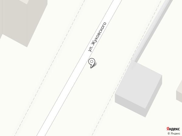 Автомагазин на Жуковского на карте Геленджика
