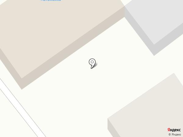 Автомойка на карте Анискино