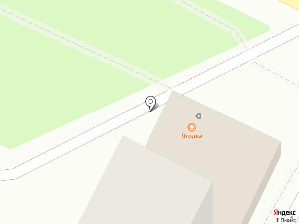 Ягодка на карте Геленджика