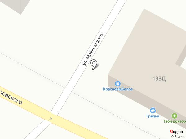 Куры на карте Геленджика