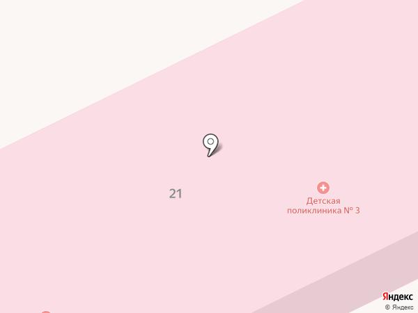 Поликлиника №2 на карте Дубовки