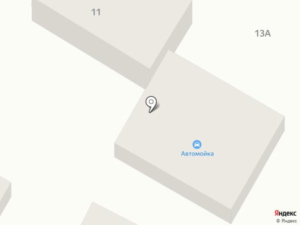 Антарес на карте Геленджика