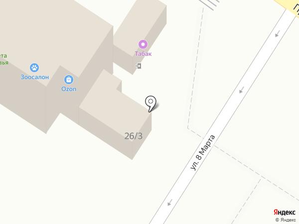 Магазин фастфудной продукции на карте Ильинского