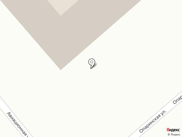 Сосны на карте Ильинского