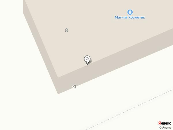 Магнит на карте Дубовки
