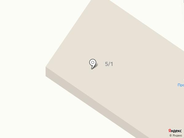 Продукты, магазин на карте Моспино
