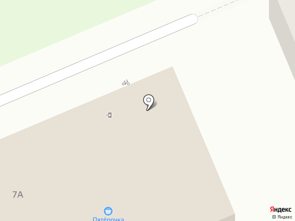 Пятёрочка на карте Дубовки