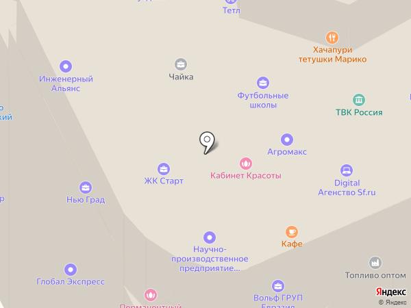 Авангард на карте Жуковского