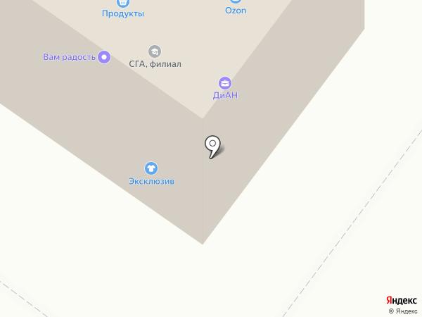 СГА на карте Жуковского