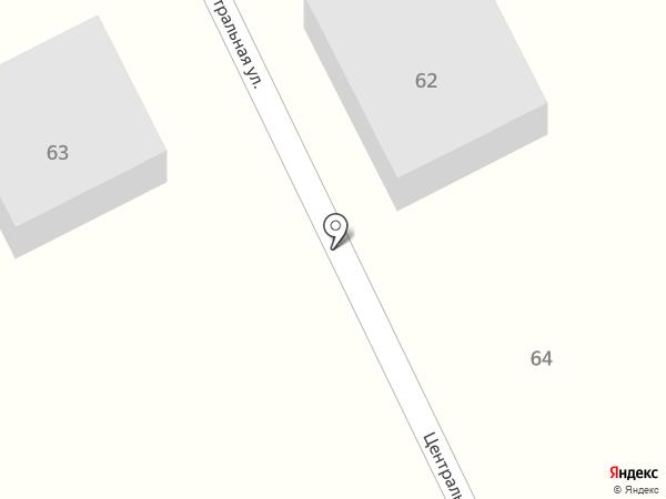 Почтовое отделение №12 на карте Геленджика
