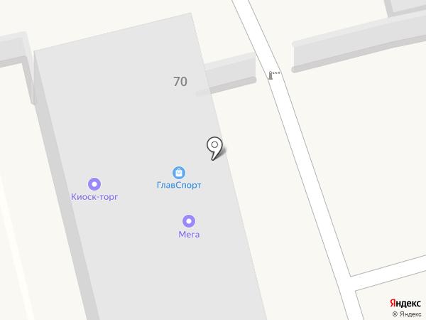 ПРИС на карте Железнодорожного
