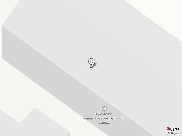 Жуковский машиностроительный завод на карте Жуковского
