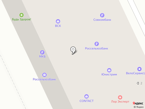 Нотариус Викулина Т.П. на карте Жуковского