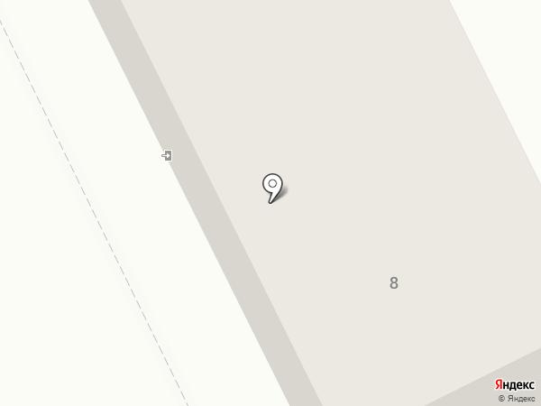 Жуковский аварийно-спасательный отряд, МУ на карте Жуковского
