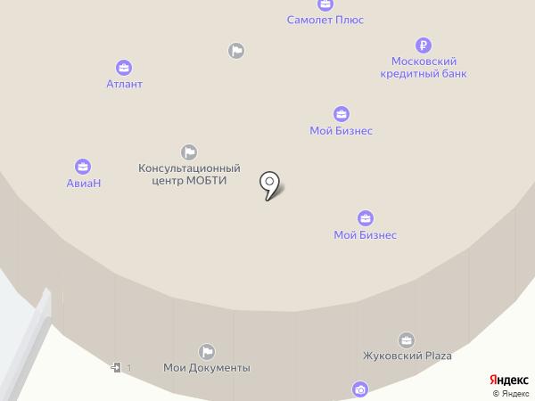 С-ФИТНЕС Lady`s на карте Жуковского