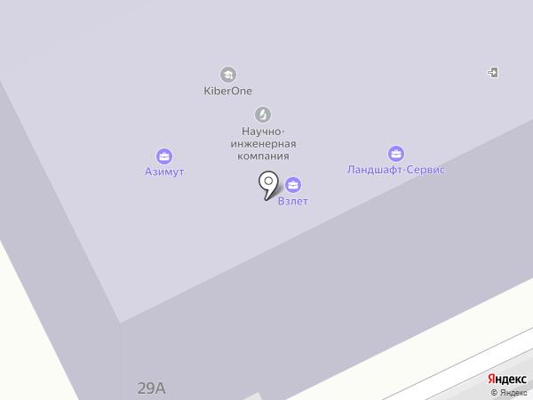 Джисиикс на карте Жуковского