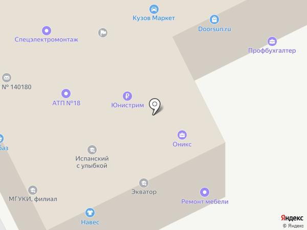 Колесо на карте Жуковского