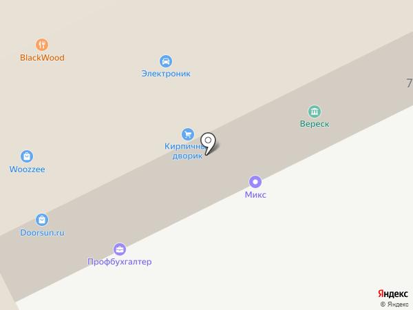 Полдень на карте Жуковского