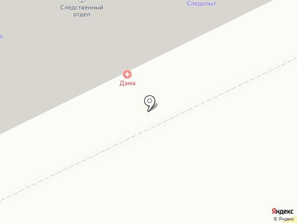 Дэма на карте Жуковского