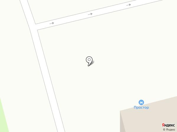 Простор на карте Геленджика