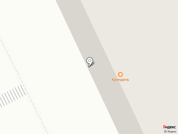 Крендель на карте Жуковского