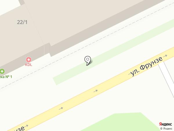 Связной на карте Жуковского