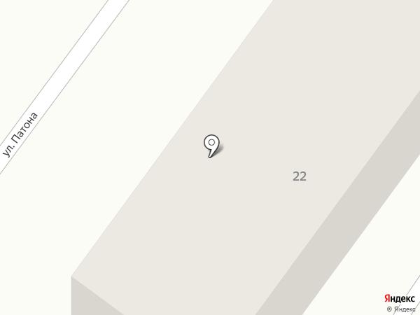 Отделение связи №3 на карте Харцызска
