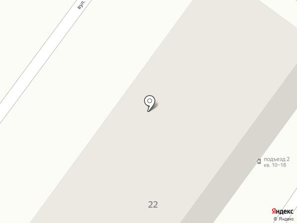 Отделение связи №3, г. Харцызск на карте Харцызска