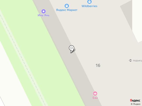 Егорьевская фабрика на карте Жуковского