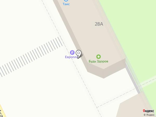 Таис на карте Жуковского
