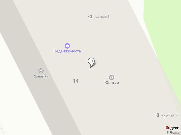 Соцсервис на карте Жуковского