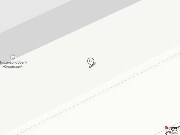 Триумф на карте Жуковского