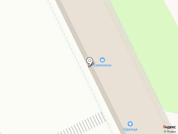 Ермолино на карте Жуковского