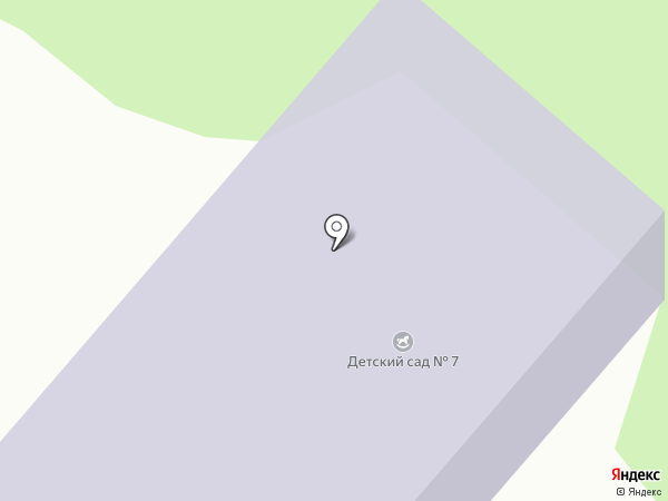 Детский сад №7 на карте Дубовки
