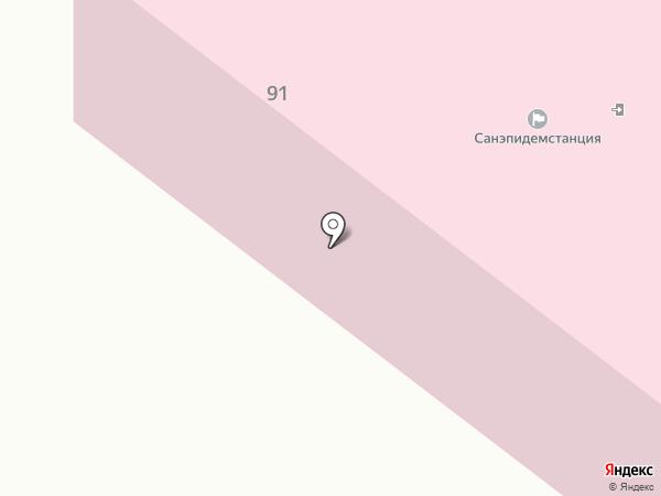 Центральный отдел Харцызского городского филиала ГУ Донецкий областной лабораторный центр госсанэпидслужбы Украины на карте Харцызска