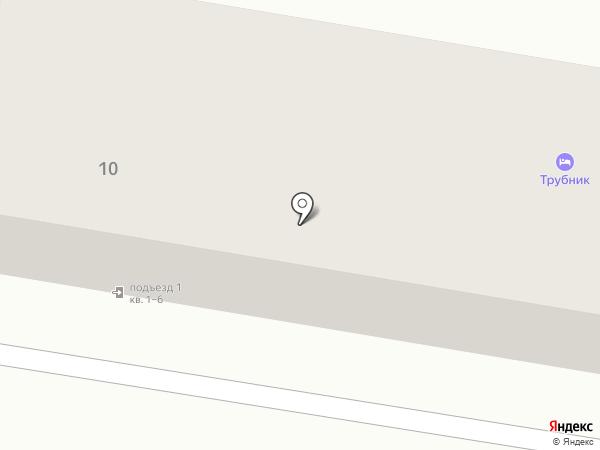 Трубник на карте Харцызска