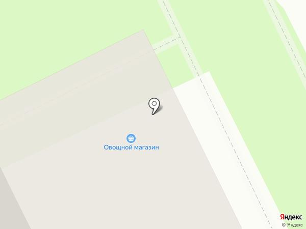 Киоск по продаже фруктов и овощей на карте Жуковского