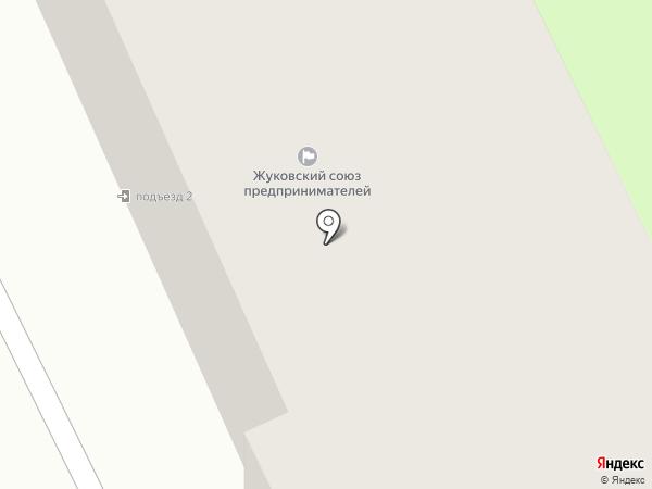 Куриный домик на карте Жуковского