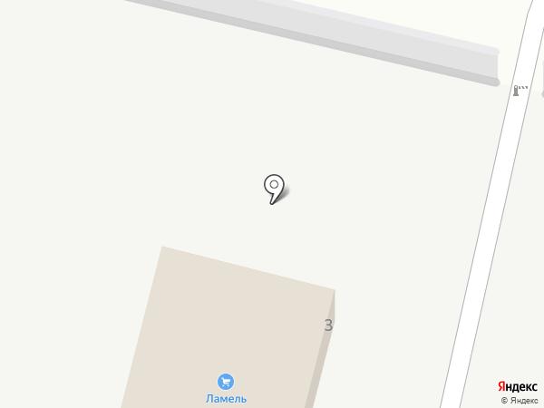 Ламель на карте Узловой