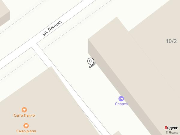Спарта на карте Геленджика