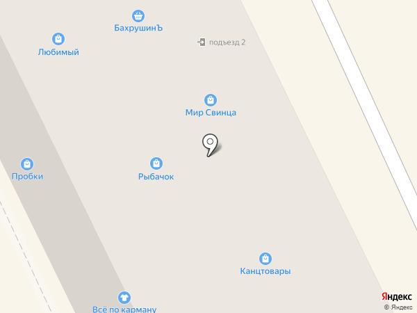 Магазин подарков на карте Жуковского