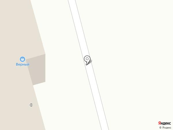 Верный на карте Красноармейска