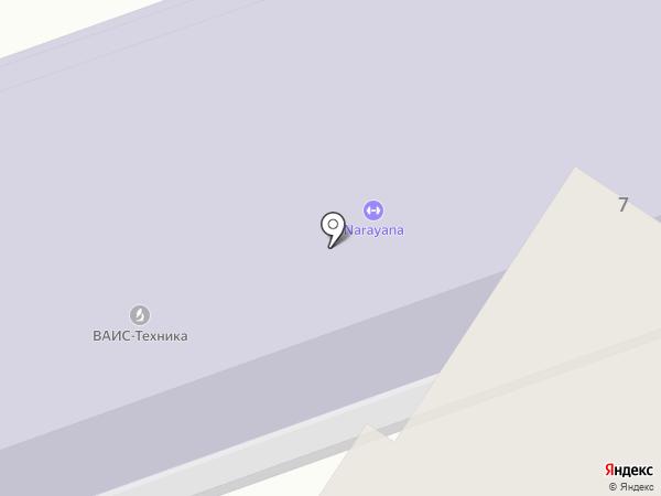 Narayana на карте Жуковского