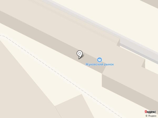 Жуковский городской оптово-розничный рынок на карте Жуковского