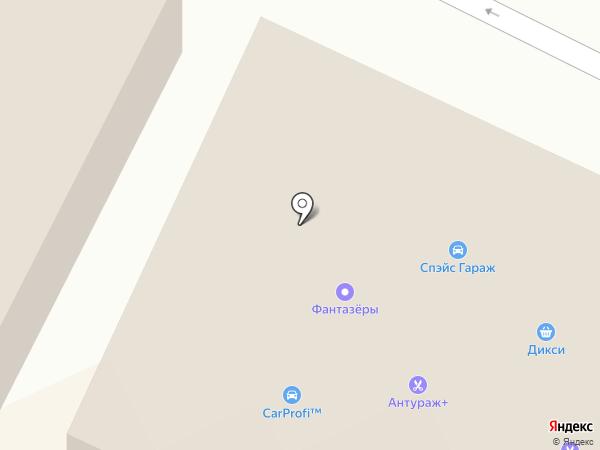 Звезда на карте Жуковского