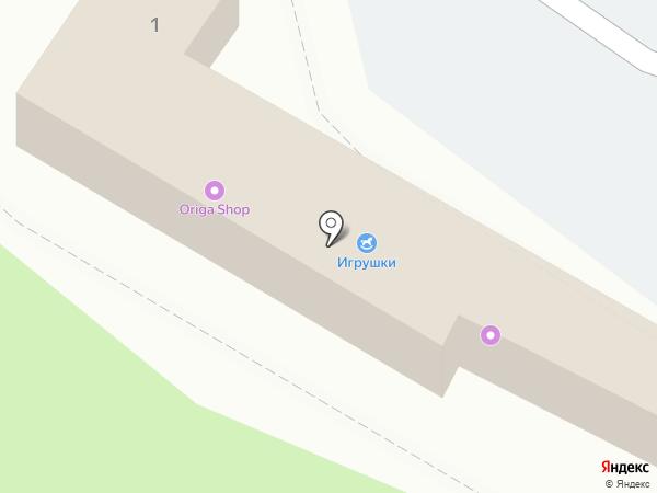 Ольга на карте Жуковского