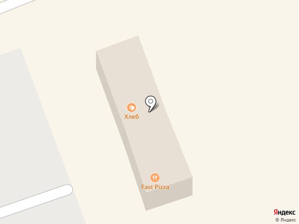 Магазин хлебобулочных изделий на карте Красноармейска