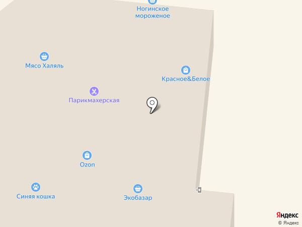 Красное & Белое на карте Красноармейска