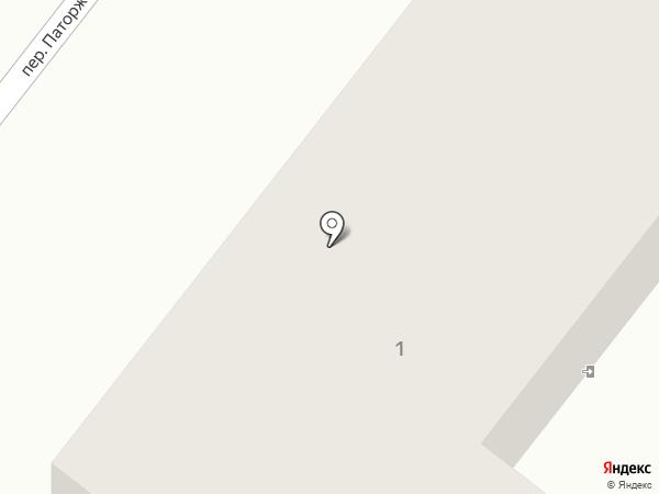 Дорожная карта на карте Харцызска